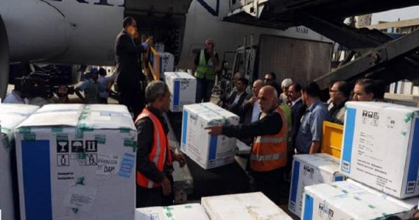 Toneladas de vacinas cubanas para o povo sírio