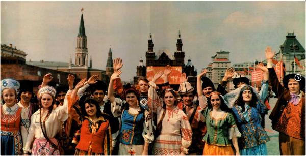 Os povos da ex-URSS