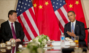 Xi Jinping, presidente da China e Barack Obama, dos EUA