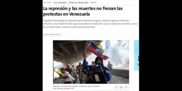 Poder midiático manipula fatos violentos na Venezuela para manter campanha golpista