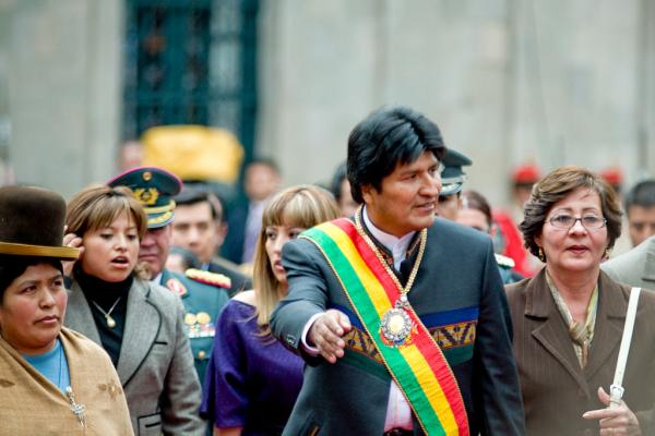 Presidente boliviano Evo Morales está desde 2006 à frente do país