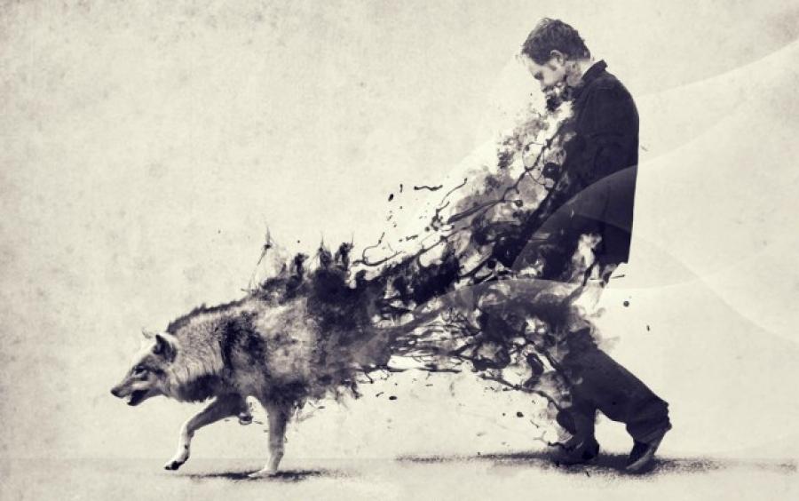 Resultado de imagem para o homem dos lobos freud