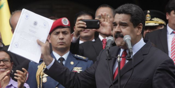Maduro enviará a medida para avaliação da Assembleia Nacional Constituinte