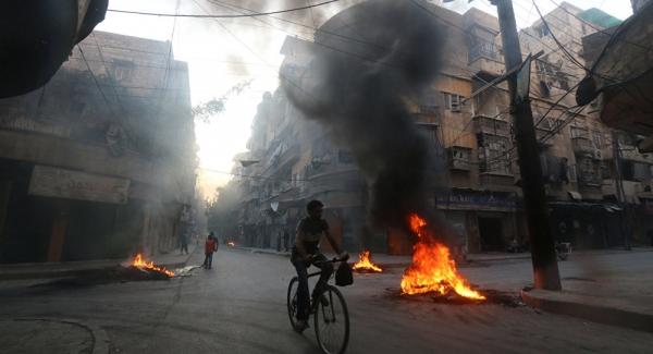 Rebeldes apoiados pelos EUA foram responsáveis por ataque químico em Aleppo