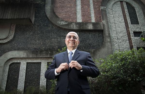 Henrique Meirelles, novo Ministro da Fazenda e ex-presidente do Banco Central