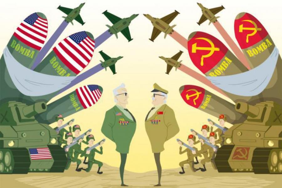 Resultado de imagem para Guerra fria