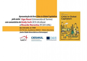 Debate em Lisboa: As cidades no capitalismo global