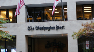 Prédio do Washington Post na capital dos Estados Unidos.