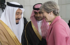Theresa May tenta enterrar relatório que indica Arábia Saudita como financiadora do terrorismo no Reino Unido
